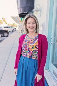 LuLaRoe Irma with a front knot